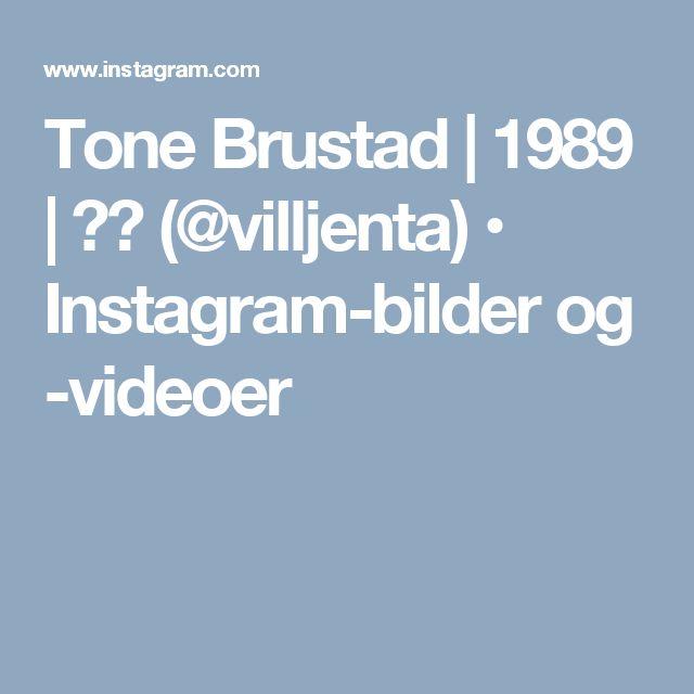 Tone Brustad | 1989 | 🇳🇴 (@villjenta) • Instagram-bilder og -videoer