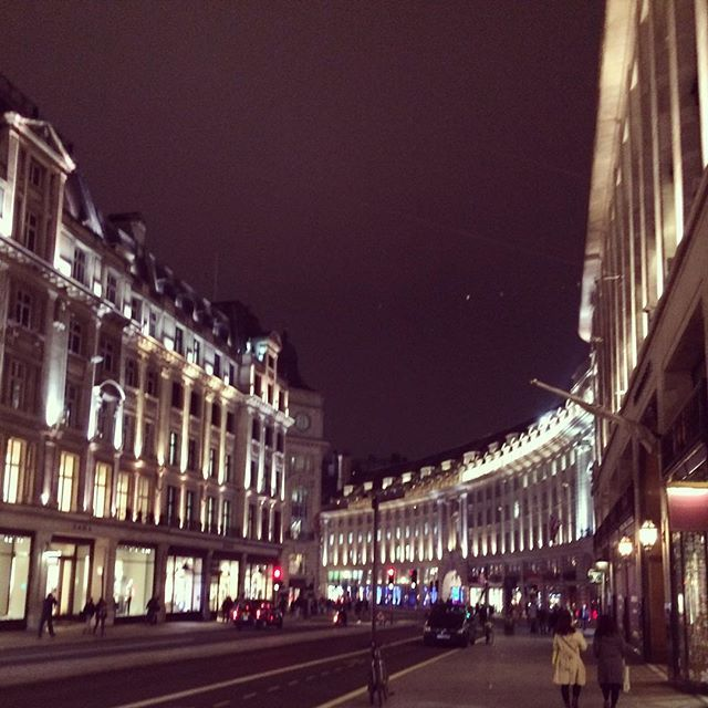@nataliecarmen_ You just gotta love #London #RegentStreet #UK #City #pretty