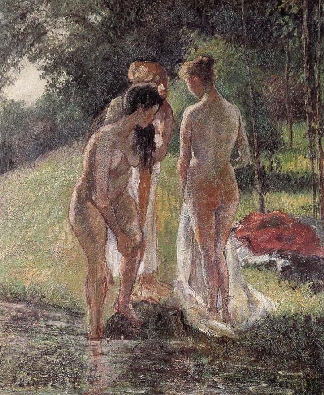 Camille Pissarro - Bath.
