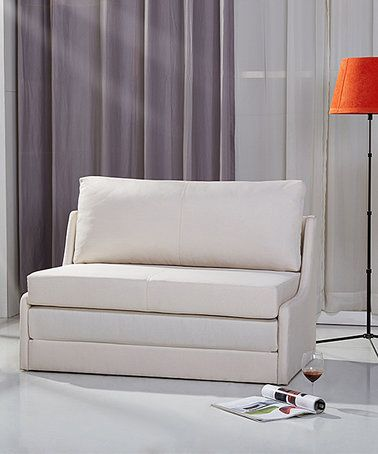 Another great find on #zulily! Biege Albany Convertible Love Seat Sleeper #zulilyfinds