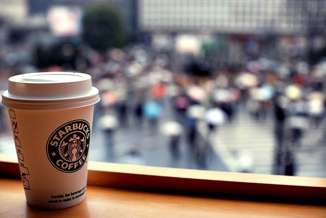 Totes been to this Starbucks overlooking Shibuya Crossing in Tokyo with Lauren!