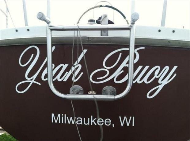 Good boat name.