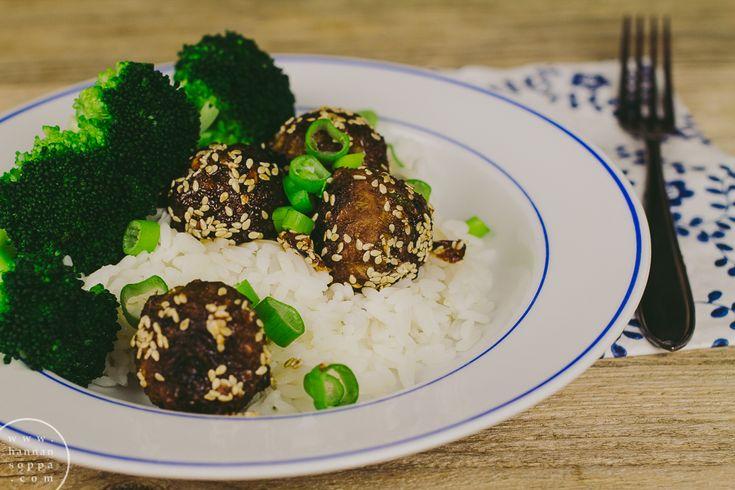 korealaiset lihapullat / Hannan soppa
