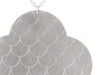 'Every Cloud pendant' by Kate Slade Sterling silver Available online and in store http://egetal.com.au/store/product/KES073