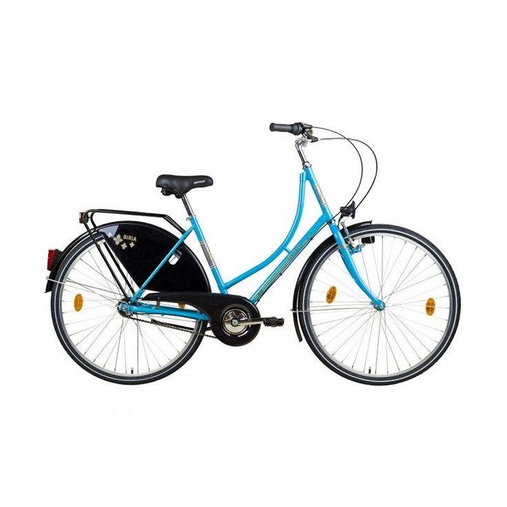Hollandrad Damen Fahrrad Cityrad 28 Zoll blau Rücktritt 3 Gang Shimano NEU