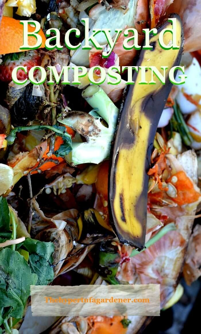 backyard composting in winter it can be so simple