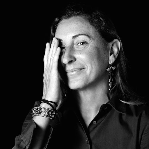 MIuccia Prada. Owner, Fashion Designer, Prada
