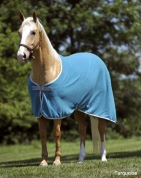 Horseware Amigo Mio Fleece Cooler 72In Purple by Horseware. $35.99. Horseware(R) Amigo Mio(R) Fleece Sheet This multi-purpose sheet is perfect for cooling out your horse to prevent chill, can also be used for transporting to keep your horse clean and can also be used with a turnout or stable blanket to add additional warmth. Features: . Anti-pill lightweight Fleece- light durability can be use to add additional warmth under a blanket, to keep the chill off when cooling-ou...