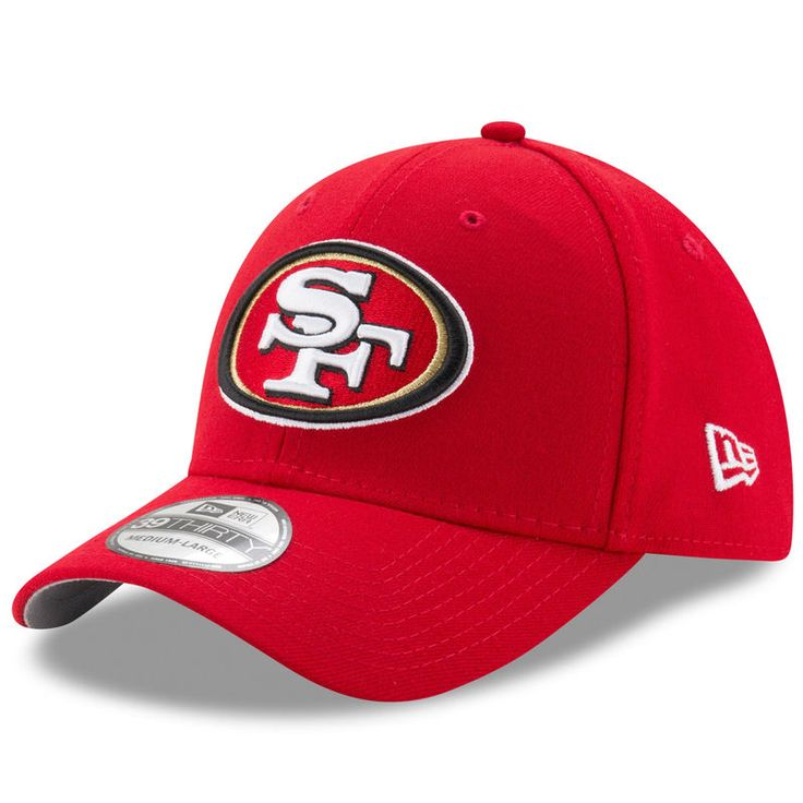 Joe Montana San Francisco 49ers New Era Super Bowl XXIV Rear Stamp 39THIRTY Flex Hat - Scarlet