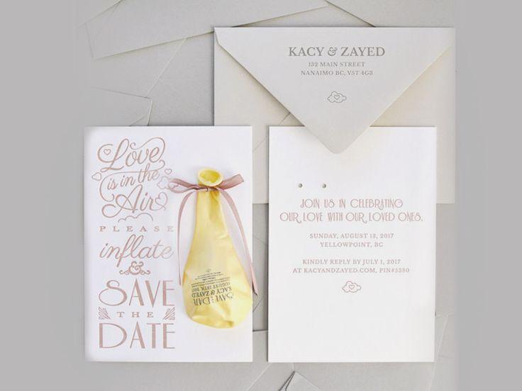 184 best Wedding Invitations images on Pinterest