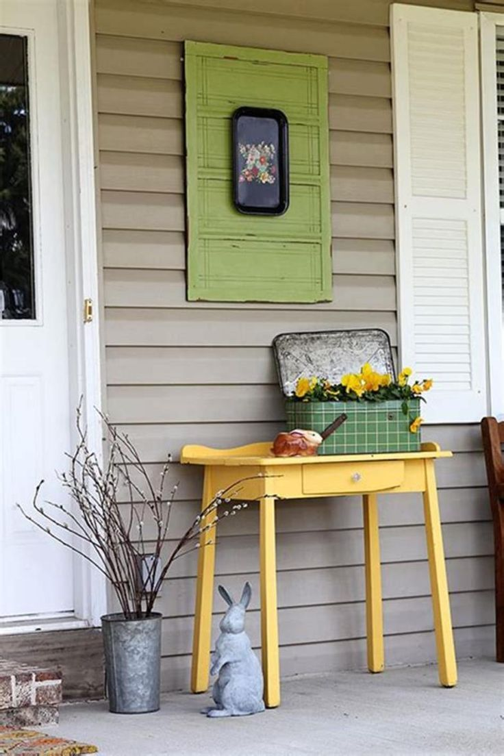 40 Beautiful Front Porch Decorating Ideas For Spring 2019 In 2020