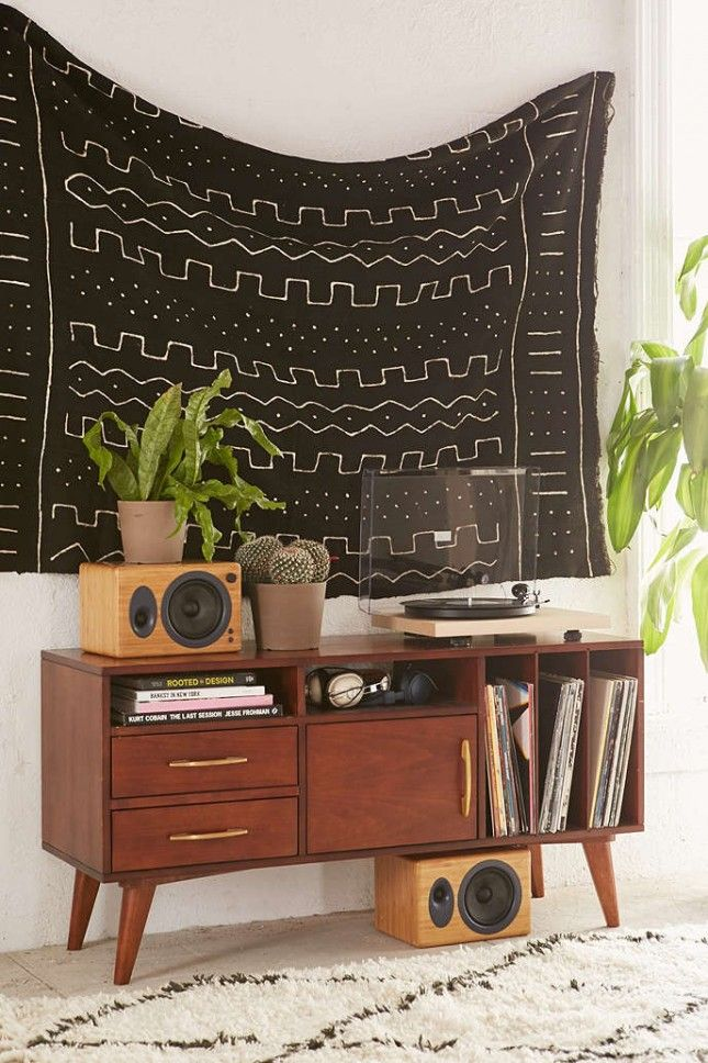 20 Ways to Decorate Your Home With the Trendy Textile That Is Mud Cloth via Brit + Co