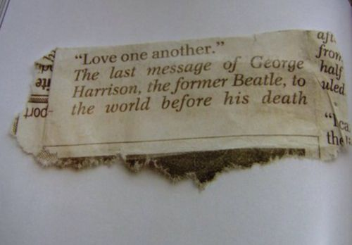 love one another {george harrison} x