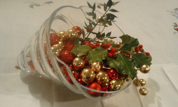 Centro tavola natalizio