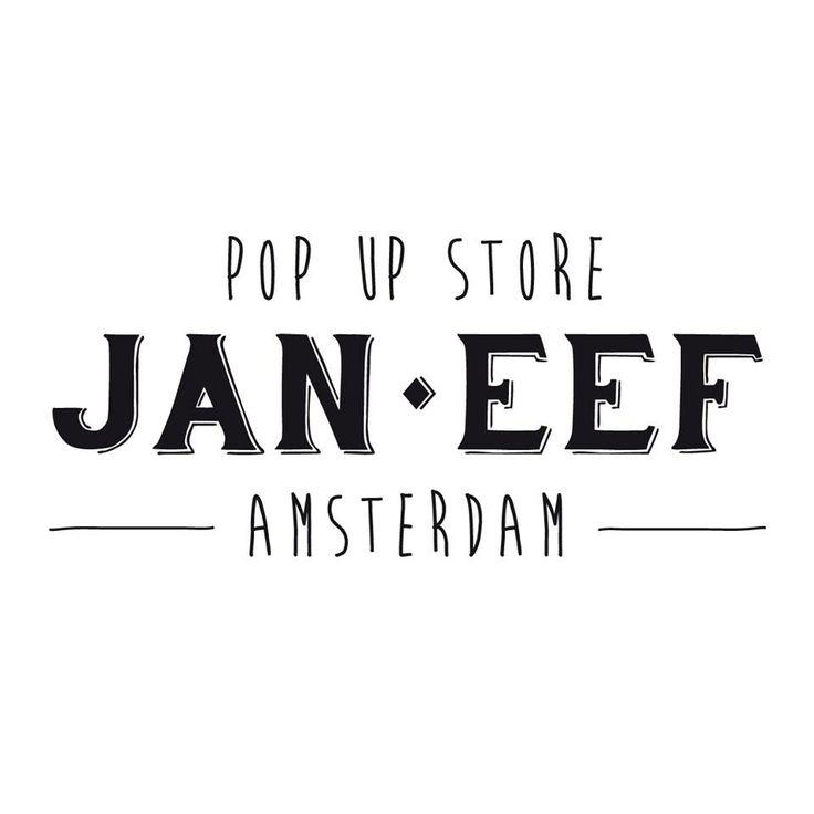 Pop-up Store Amsterdam - Jan Eef - Multi cultural world
