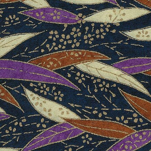 Yuzen paper, or chiyogami, is a silkscreen of traditional kimono patterns, made in Japan.