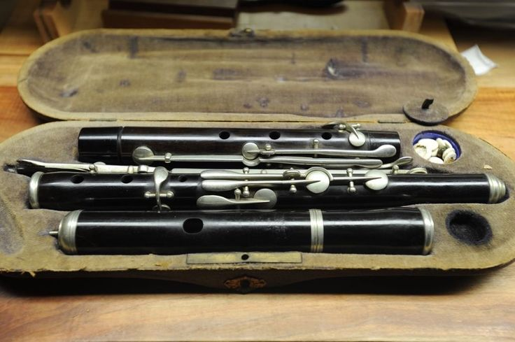 Unusually Fine - nach Meyer 11-key antique wooden flute DEMO included