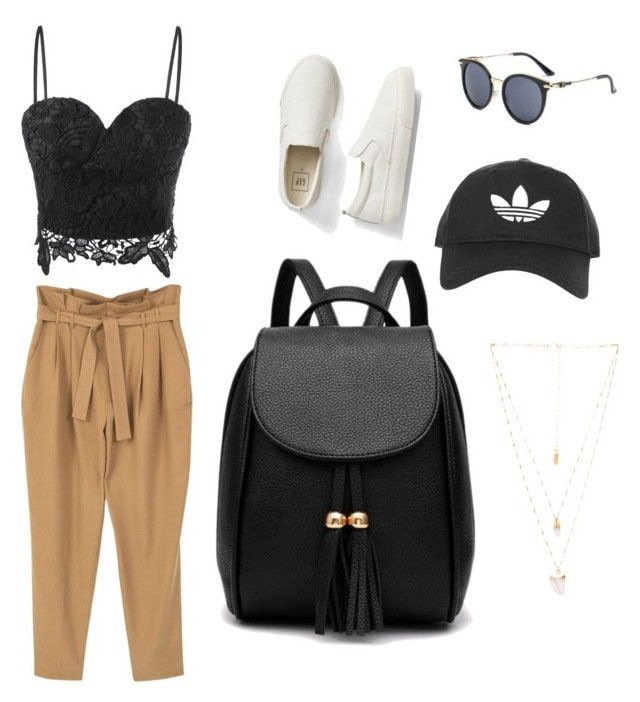 """Untitled #1"" by nastjapessi on Polyvore featuring MANGO, Gap, Topshop and Natalie B"