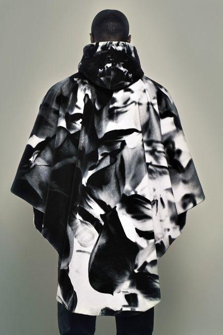 Lee Lapthorne Spring/Summer 2012 Menswear Lookbook: Dramatic Prints, Dedicated Details Artistic Modern Men's Fashion Structure