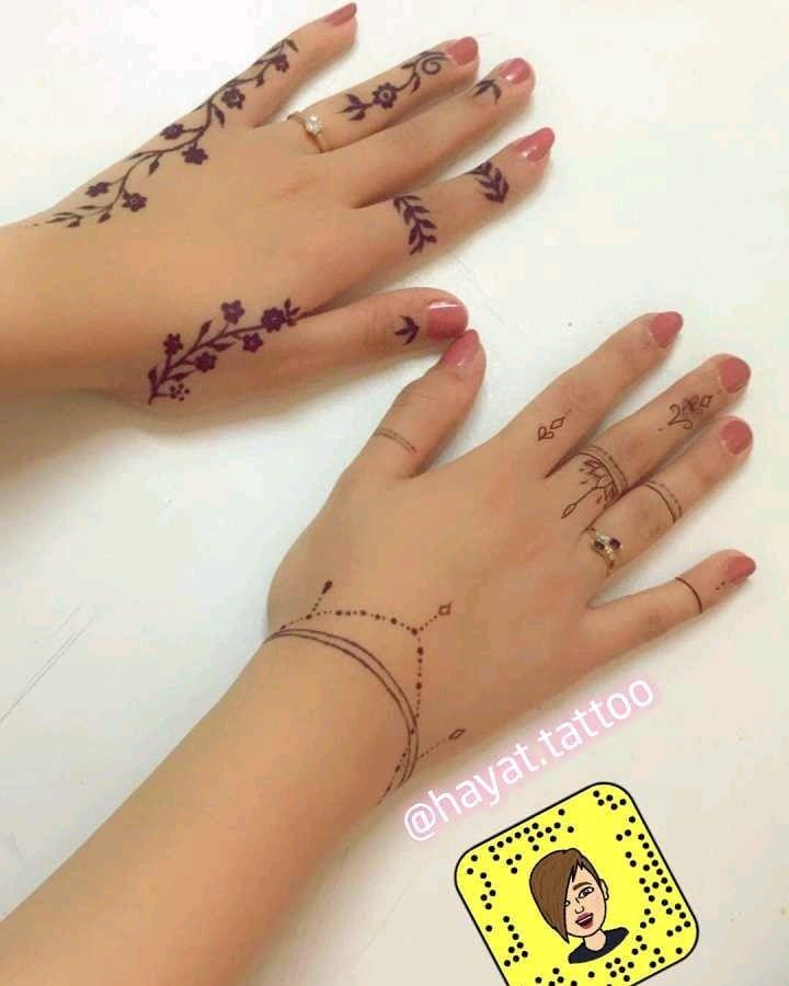 نقش ناعم حناء تاتوهات نقش عرايس نقش خفيف نقش اصابع تاتو دوج حناء اسود داج جامعة الطا Henna Tattoo Designs Simple Henna Tattoo Beginner Henna Designs