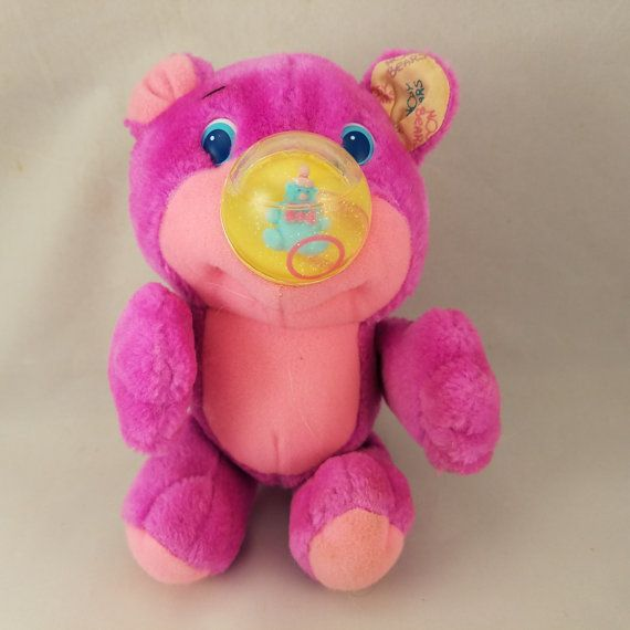 Hey, I found this really awesome Etsy listing at https://www.etsy.com/listing/486985647/playskool-gumlet-nosy-bear-nosey-plush