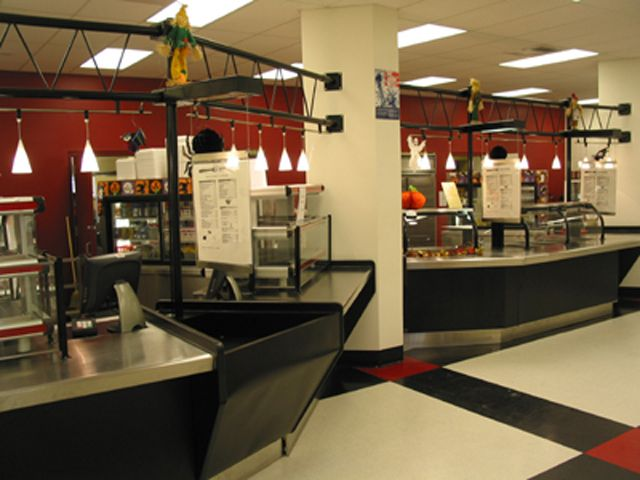 Hillsboroguh High School Cafeteria Foodservice Design I