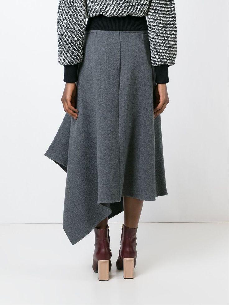 Stella McCartney асимметричная юбка