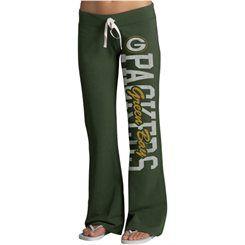 '47 Brand Green Bay Packers Womens Green Pep Rally Pants