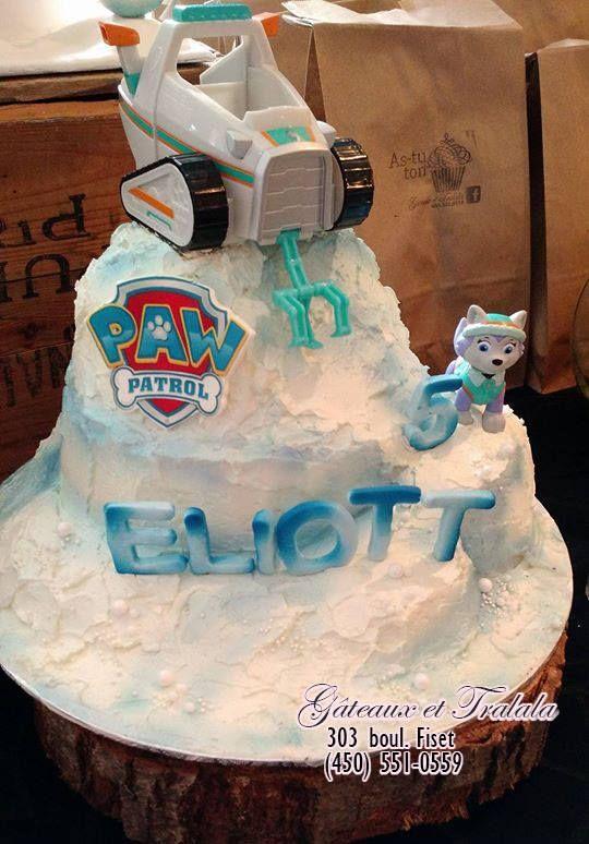 Paw Patrol cake - Everest