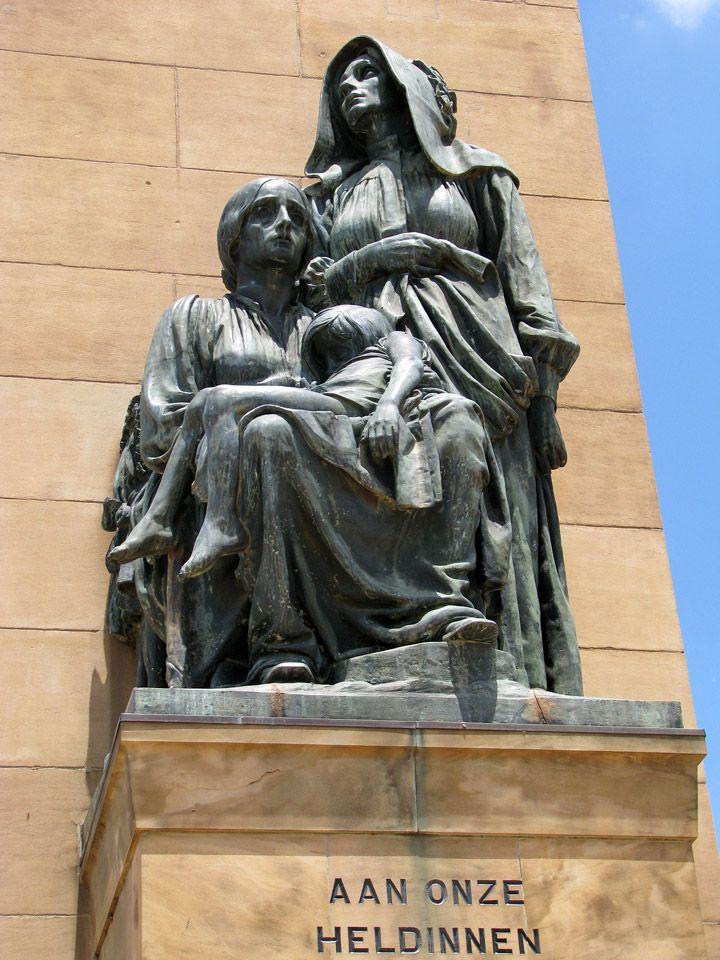 Boer War Memorial, Bloemfontein, Free State, South Africa - Travel Photos by Galen R Frysinger, Sheboygan, Wisconsin - Memorial to the Women