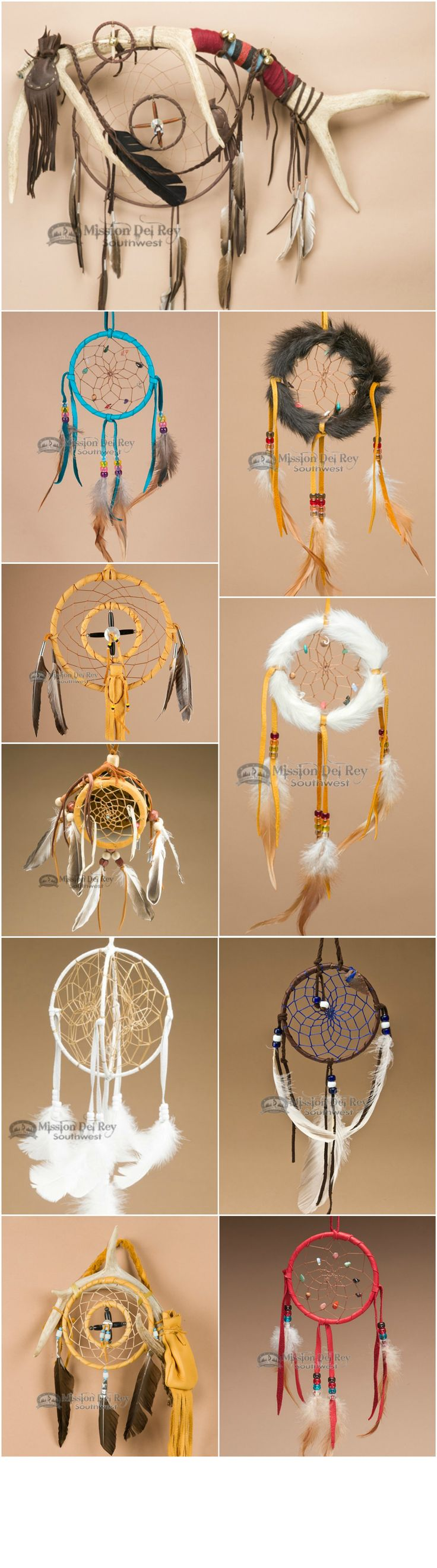 Native American dream catchers and medicine wheels  http://www.missiondelrey.com/native-american-dream-catchers/