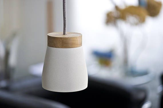 Frida Hangelampe Weiss Pulverbeschichtet Inkl Led E14 Concrete Table Lamp Industrial Desk Lamp Soft Lighting