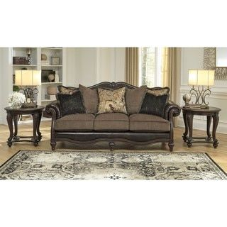 Shop for Signature Design by Ashley Winnsboro DuraBlend Vintage Sofa. Get free shipping at Overstock.com - Your Online Furniture Outlet Store! Get 5% in rewards with Club O!