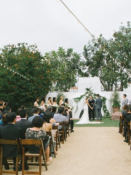 These High School Sweehearts Got Exactly What They Wanted Wedding CeremonyWedding