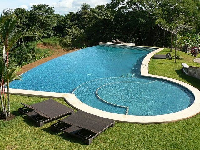1486 Best Images About Awesome Inground Pool Designs On Pinterest