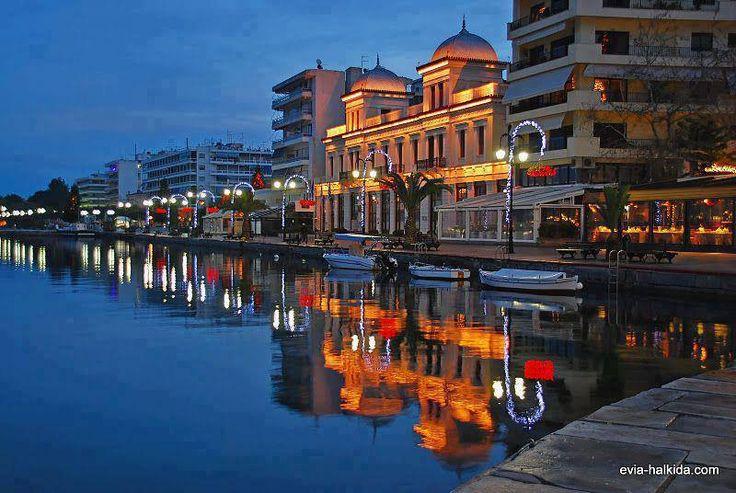 ΧΑΛΚΙΔΑ..Halkida at night