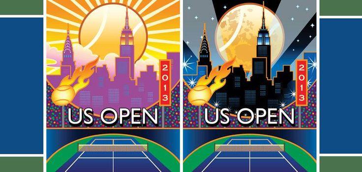 2013 US Open Theme Art by Gary Townswick >> http//www