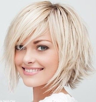 pelo corto desfilado para mujeres de aos