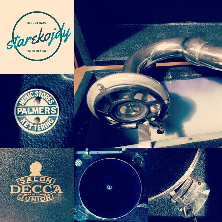 Original 1930's Decca Salon gramophone. #starekojdy #gramophone #deccasalon #deccagramophone #30s #originals #vintageshop #vintage #vintagegadget #vintagestyle #vintagegramophone #palmerslondon #lovevintage