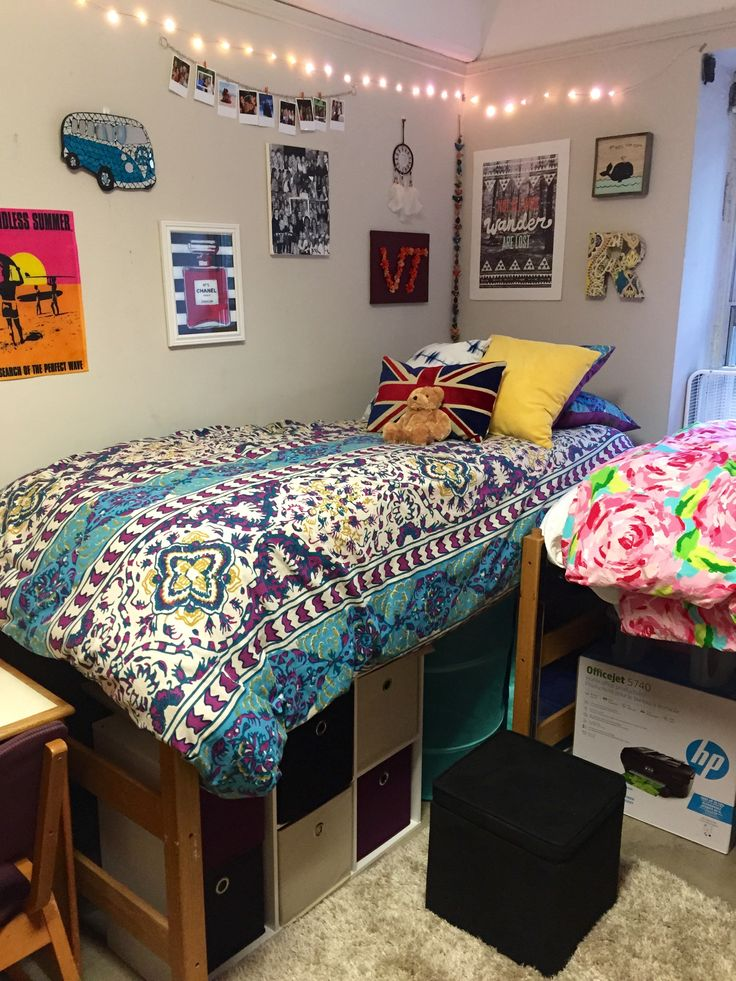 Virginia Tech Dorm (With images) Dorm room organization