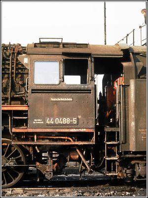 44 0488 in Saalfeld mit der Anschrift Bw Probstzella