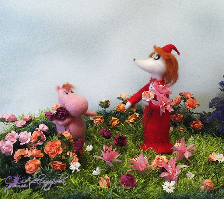 Fillyjonkа - felting. By Stasiya Alexandrova   Филифьонка племянница крысы Эммы - автор Стася Александрова