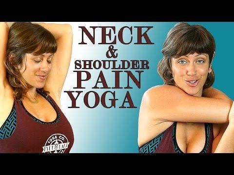 Yoga For Neck Pain & Shoulder Pain Relief – 20 Minute Stretch Workout - Joy Scola - YouTube
