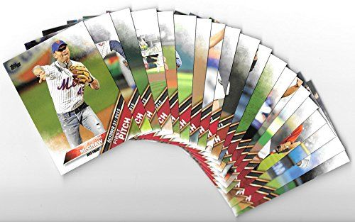 2016 Topps Series 2 Baseball FIRST PITCH Complete 20 Card Insert Set w/ Tim McGraw, Jimmy Kimmel, Rosie Rios, Billy Joe Armstrong, Nina Agdal, Jeff Tweedy, Jim Harbaugh, Jim Breuer, Spencer Stone, Kyle Larson, Miguel Cotto, Tom Watson, Edward Burns, Geoff Britten, Lea Thompson, Jim Caviezel, George H. W. Bush, J.K. Simmons, Kendrick Lamar, David Hearn