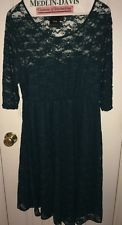 Asos Maternity - Georgeous Green Lace Maternity Dress Size 8! Shower Work Church $14.99 Buy It Now