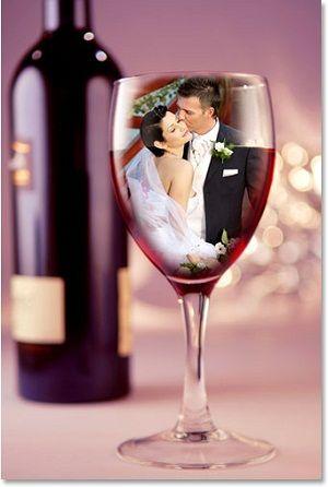 Khóa học Photoshop căn bản với cách chèn ảnh cưới vào trong ly rượu vang dễ dàng nhất