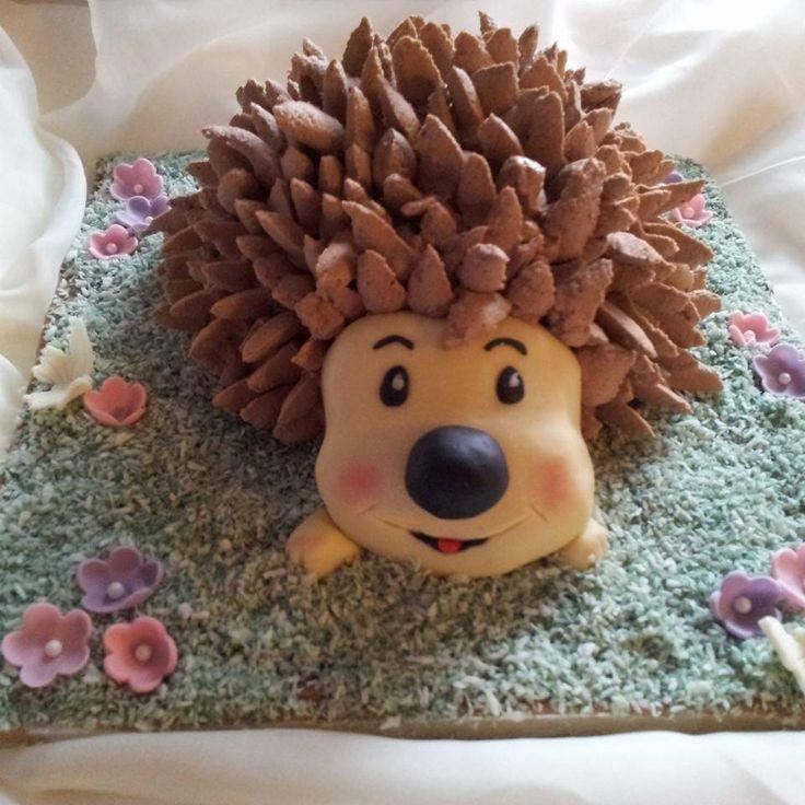 cake puerco espin