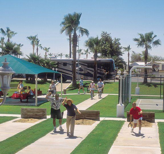 Sun Life Rv Resort At Mesa Arizona Arizona Campgrounds