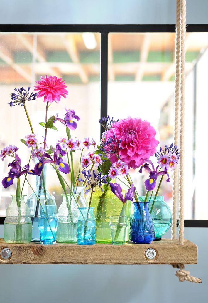 Meer Dahlia's op www.mooiwatbloemendoen.nl #dahlia #bloemen #flowers