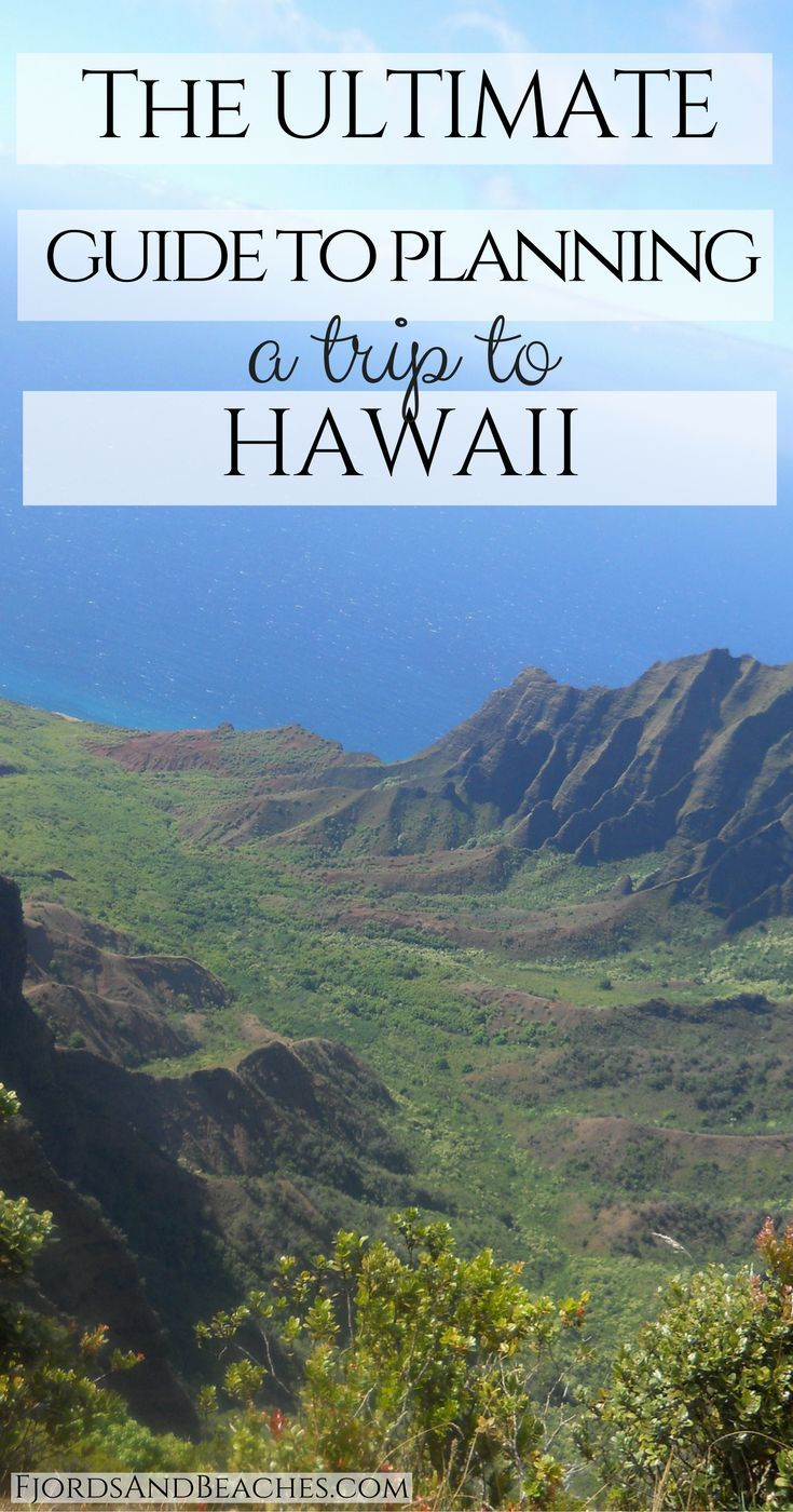 The Ultimate Guide to Hawaii Travel. Guide to planning a trip to Hawaii. Hawaii Guide. The best Hawaii guide. Hawaii trip planning. How to go to Hawaii.